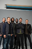 LINKIN PARK - Photosession in Los Angeles Ca USA - 08 Apr 2014. Photo credit: Manon Violence/Dalle/IconicPix **AVAILABLE FOR UK ONLY**