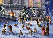 Marcello, CHRISTMAS LANDSCAPES, WEIHNACHTEN WINTERLANDSCHAFTEN, NAVIDAD PAISAJES DE INVIERNO, paintings+++++,ITMCXM1725A,#XL#