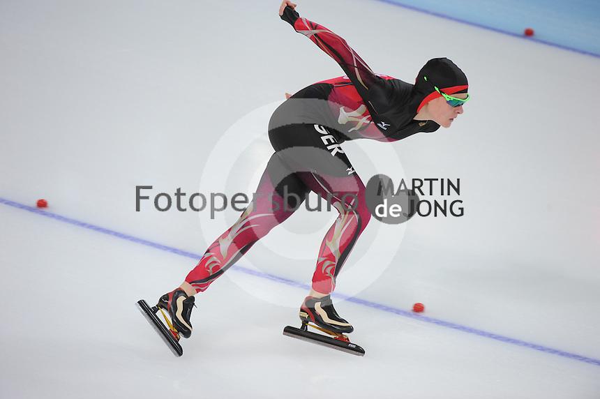 OLYMPICS: SOCHI: Adler Arena, 19-02-2014, Ladies' 5000m, Stephanie Beckert (GER), ©photo Martin de Jong