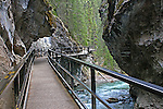 JOHNSON'S CANYON, BANFF NATIONAL PARK, ALBERTA, CANADA