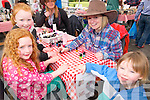 KP& F Garden Fate : Attending the annual Listowel branch of Kerry Parents & Friends Garden Fete were Siun & Cliona Kennelly, Niamh Walsh & Padraic Kennelly.