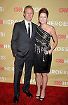 HOLLYWOOD, CA. - November 21: Lee Kirk and actress Jenna Fischer attend the 2009 CNN Heroes Awards held at The Kodak Theatre on November 21, 2009 in Hollywood, California.