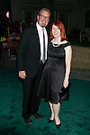 """UNIVERSAL CITY, CA. - August 14: Actress Kate Flannery and Chris Haston  attend a """"Green"""" Gala hosted by Governor Arnold Schwarzenegger at Universal Studios on August 14, 2008 in Universal City, California."""