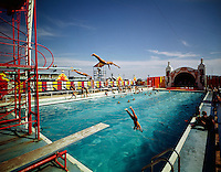 Aqua Circus, Wildwood, NJ.<br /> Three divers.