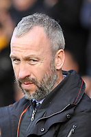 Cambridge United manager Shaun Derry during Cambridge United vs Accrington Stanley, Sky Bet EFL League 2 Football at the Cambs Glass Stadium on 11th November 2017