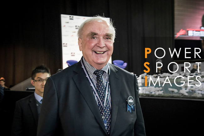 Longines President Walter Von Känel at Longines Hong Kong Masters 2015 at the Asiaworld Expo on 13 February 2015 in Hong Kong, China. Photo by Moses Ng / Power Sport Images