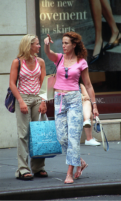 *EXCLUSIVE* Andie MacDowell with her daughters shopping on Madison Avenue in New York. Please byline: Alecsey Boldeskul/NY Photo Press.   ..*PAY-PER-USE*      ....NY Photo Press:  ..phone (646) 267-6913;   ..e-mail: info@nyphotopress.com