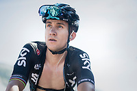 Michal Kwiatkowski (POL/SKY) post-race<br /> <br /> 69th Critérium du Dauphiné 2017<br /> Stage 8: Albertville > Plateau de Solaison (115km)