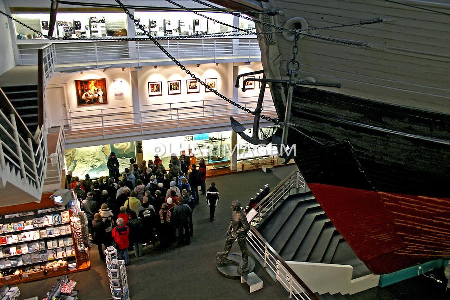 Museu Náutico, Fram Museum. Oslo. Noruega. 2008. Foto de Marcio Nel Cimatti.