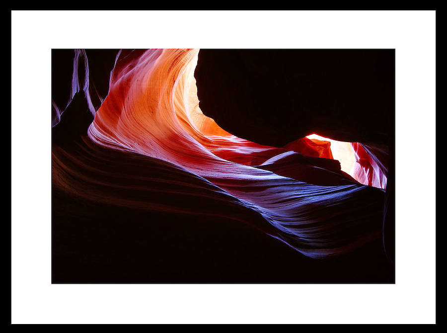 Antelope Canyon, Arizona.  © Andrew Shurtleff