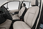 Front seat view of 2016 Ford Transit Connect Titanium 5 Door Mini Mpv Front Seat  car photos