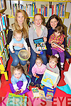 RHYMES: Some members of the new nursery rhymes and music group which meets at Ballybunion library once a week, front l-r: Kevin Cullen, Emily Cullen, Annabelle Walsh. Back l-r: Siobhan Gleeson and Archie Walsh, Jane Byrne, Anne Marie Jones and Kate Horgan,