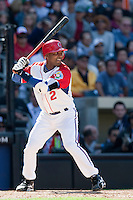 15 March 2009: #2 Eduardo Paret of Cuba is seen at bat during the 2009 World Baseball Classic Pool 1 game 1 at Petco Park in San Diego, California, USA. Japan wins 6-0 over Cuba.
