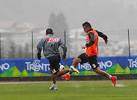 Marek Hamsik <br /> ritiro precampionato Napoli Calcio a  Dimaro 26 Luglio 2014<br /> <br /> Preseason summer training of Italy soccer team  SSC Napoli  in Dimaro Italy July 26, 2014