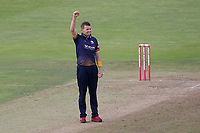 Peter Siddle of Essex celebrates taking the wicket of Colin Ingram during Glamorgan vs Essex Eagles, Vitality Blast T20 Cricket at the Sophia Gardens Cardiff on 7th August 2018