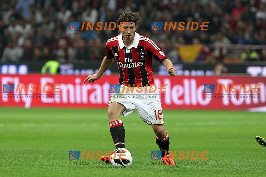 "Riccardo Montolivo Milan.Milano 07/10/2012 Stadio ""San Siro"".Football Calcio Serie A 2012/13.Milan v Inter.Foto Insidefoto Paolo Nucci."