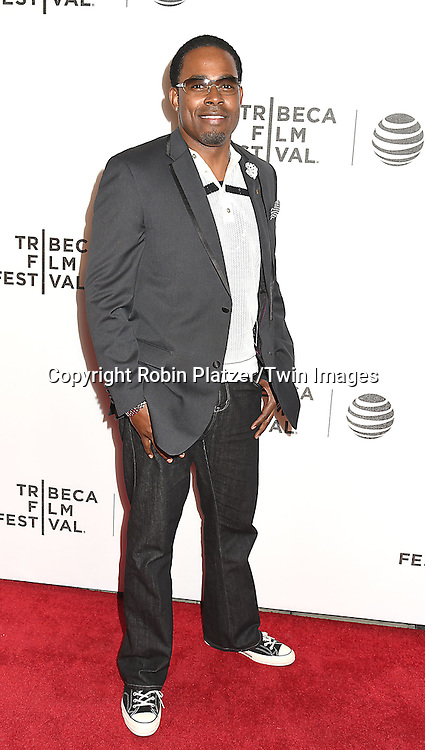 actor Lamman Rucker attends the &quot;Greenleaf&quot; world premiere at The Tribeca Film Festival on April 20, 2016 at the John Zuccotti Theater @ BMCC Tribeca Performing Arts Center in New York, New York, USA. The new original drama Series is from the OWN Network.<br /> <br /> photo by Robin Platzer/Twin Images<br />  <br /> phone number 212-935-0770