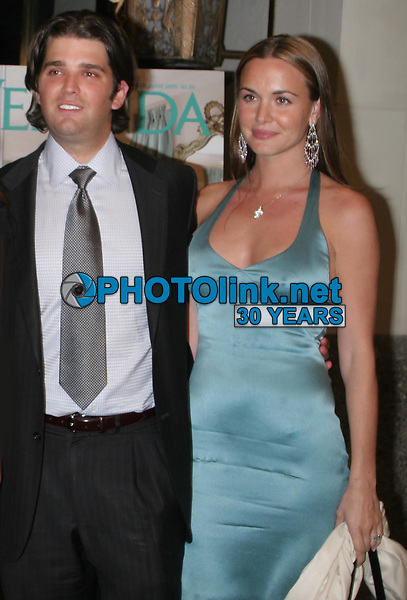 Donald Trump Jr and fiance Vanessa 2005<br /> Photo By John Barrett/PHOTOlink