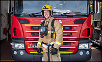 BNPS.CO.UK (01202 558833)<br /> Pic: PhilYeomans/BNPS<br /> <br /> Com: Jim Selby<br /> <br /> Rev James Menzies of All Saints church in Portland , Dorset - He has also joined the local fire station as a part time fireman.