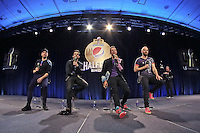 04.02.2016: SB 50 Halftime Show Pressekonferenz mit Coldplay