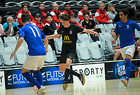 Auckland v Southern. Futsal National League 2 Finals tournament at ASB Sports Centre in Wellington, New Zealand on Friday, 7 December 2018. Photo: Dave Lintott / lintottphoto.co.nz