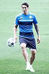 Leicester City FC's Leonardo Ulloa during training session. April 11, 2017.(ALTERPHOTOS/Acero)