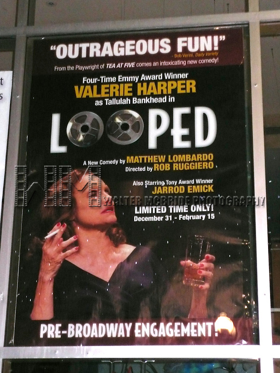 Valerie Harper starring as Tallulah Bankhead in the .pre-Broadway engagement of Matthew Lombardo's LOOPED at the Cuillo Centre in West Palm Beach, FL..Performances begin Dec. 31 at the Florida venue with an official opening Jan. 7, 2009. Performances will continue through Feb. 15, 2009. Rob Ruggiero directs..December 28, 2008.