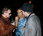 WEST HOLLYWOOD, CA. - February 08: Musicians Bono, Sheryl Crow and The Edge attend the Universal Music Group Chairman Doug Morris' Grammy Awards Viewing Dinner at The Palm on February 8, 2009 in West Hollywood, California.