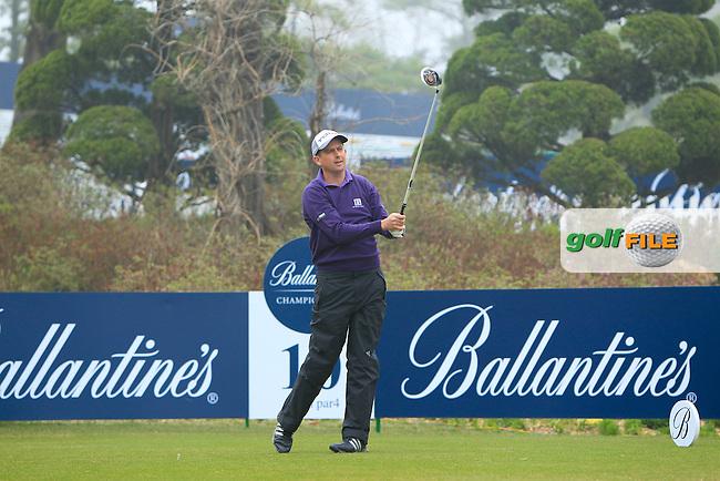 Ballantine's Championship 2013, Thursday Peter Lawrie
