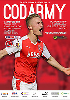Fleetwood Town Programme Cover - 07-May-2017 - Kyle Dempsey of Fleetwood Town - Photo by Rob Newell  (Camerasport)