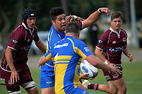 Action from the Horowhenua-Kapiti Ramsbottom Cup premier club rugby union match between Shannon and Paraparaumu at Shannon Domain in Shannon, New Zealand on Saturday, 6 April 2019. Photo: Dave Lintott / lintottphoto.co.nz