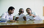 "S?dasien Asien Indien IND Madurai.Beamte im staatlichen Buero des pollution board Umweltbehoerde - Verwaltung Behoerde good governance Buerokratie xagndaz | .South Asia India Tamil Nadu Madurai .officials at pollution board office going bored and tired through files  -  governance indian bureaucracy .| [ copyright (c) Joerg Boethling / agenda , Veroeffentlichung nur gegen Honorar und Belegexemplar an / publication only with royalties and copy to:  agenda PG   Rothestr. 66   Germany D-22765 Hamburg   ph. ++49 40 391 907 14   e-mail: boethling@agenda-fototext.de   www.agenda-fototext.de   Bank: Hamburger Sparkasse  BLZ 200 505 50  Kto. 1281 120 178   IBAN: DE96 2005 0550 1281 1201 78   BIC: ""HASPDEHH"" ,  WEITERE MOTIVE ZU DIESEM THEMA SIND VORHANDEN!! MORE PICTURES ON THIS SUBJECT AVAILABLE!! INDIA PHOTO ARCHIVE: http://www.visualindia.net ] [#0,26,121#]"