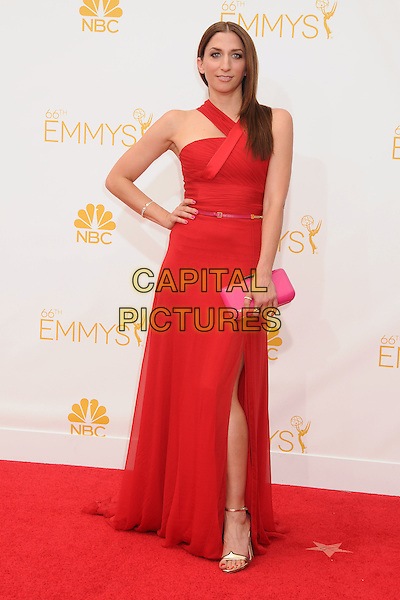 25 August 2014 - Los Angeles, California - Chelsea Peretti. 66th Annual Primetime Emmy Awards - Arrivals held at Nokia Theatre LA Live. <br /> CAP/ADM/BP<br /> &copy;BP/ADM/Capital Pictures