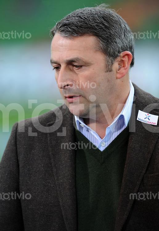 FUSSBALL  1. BUNDESLIGA   SAISON 2009/2010  34. SPIELTAG SV Werder Bremen - Hamburger SV                       08.05.2010 Sportmanager Klaus ALLOFS (SV Werder Bremen)