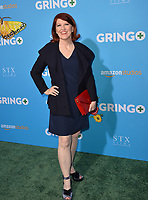 Kate Flannery at the world premiere for &quot;Gringo&quot; at the L.A. Live Regal Cinemas, Los Angeles, USA 06 March 2018<br /> Picture: Paul Smith/Featureflash/SilverHub 0208 004 5359 sales@silverhubmedia.com