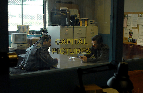 JOAQUIN PHOENIX & MARK WAHLBERG.in We Own the Night .**Editorial Use Only**.CAP/FB.Supplied by Capital Pictures