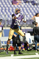 Sept 20, 2014:  Washington's Naijiel Hale against Georgia State.  Washington defeated Georgia State 45-14 at Husky Stadium in Seattle, WA.