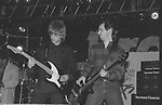 Elliot Easton of The Cars & Garry Tallent of The E Street Band performing at NAMM 1987.