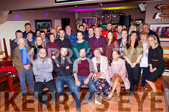 Billy Conway from Farmersbridge, seated centre, celebrated his 30th birthday last Saturday night, Dec 14, along with many friends, guests and family.