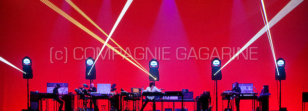 Jean Michel Jarre's concert in the Heineken Hall, Amsterdam, part of his In Doors World tour (Netherlands, 26/05/2009)