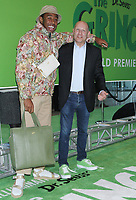 NEW YORK, NY - NOVEMBER 03: Tyler the Creator, Chris Meledandri at the New York Premiere of  'Dr. Seuss' The Grinch' at Alice Tully Hall, Lincoln Center on November 3, 2018 in New York City.  <br /> CAP/MPIRW<br /> &copy;RW/MPI/Capital Pictures