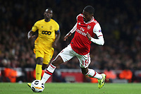Ainsley Maitland-Niles of Arsenal in action during Arsenal vs Standard Liege, UEFA Europa League Football at the Emirates Stadium on 3rd October 2019