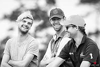 Boys Club: Andy Daines; Clarke Johnstone; Nick Brooks. 2017 NZL-Puhinui International 3 Day Event. Auckland. Friday 8 December. Copyright Photo: Libby Law Photography