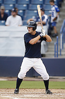 July 10, 2009:  Third Baseman Mitch Hilligoss of the Tampa Yankees during a game at George M. Steinbrenner Field in Tampa, FL.  Tampa is the Florida State League High-A affiliate of the New York Yankees.  Photo By Mike Janes/Four Seam Images