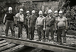1973 Railroad workers, Conrail. Lewisburg, PA. Gandy Dancers..File #73-134-C9a