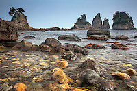 Minokake Rocks south of Shimoda Japan on the Izu Peninsula