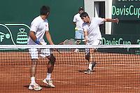 Tenis 2014 Copa Davis Chile vs Paraguay Dobles