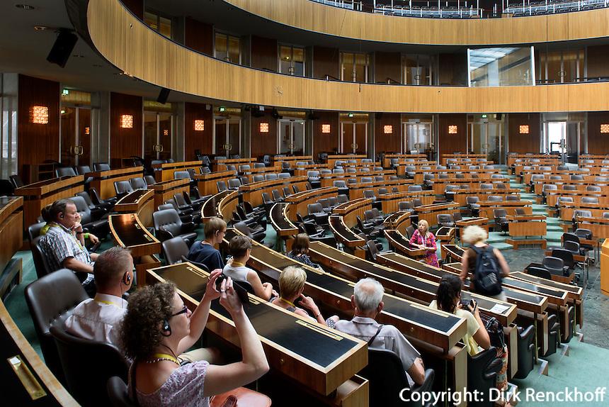 Sitzungssaal im Parlament, Dr.-Karl-Renner-Ring 3, Wien, &Ouml;sterreich<br /> Assembly Hall of the Parliament, Vienna, Austria
