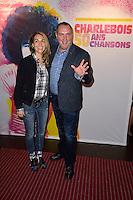 MESSMER ( Eric Normandin ) et sa femme - Representation Robert Charlebois au theatre Bobino - 11 avril 2016 - Paris - France