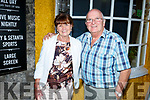 Dan and Maureen Walsh from Lohercannon enjoying the evening in the Brogue Inn on Saturday